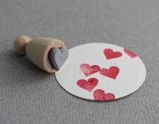 Perlenfischer Stempel Herz