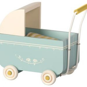 Maileg - Kinderwagen My - Blau